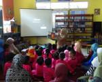 Kunjungan dari KB Taman Firdaus ke Rumah Belajar Modern (RBM)